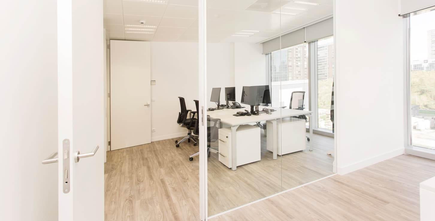 alquiler oficinas por horas madrid