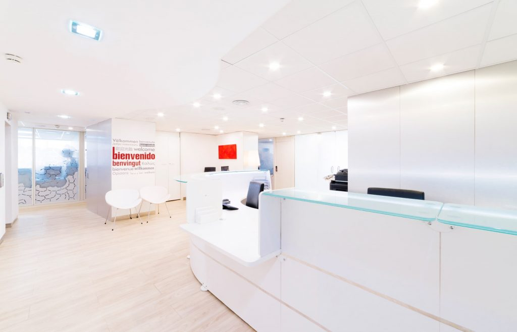 centro negocios barcelona edificios trade