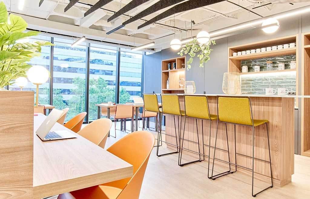 espacios comunes en centro de negocios principe de vergara