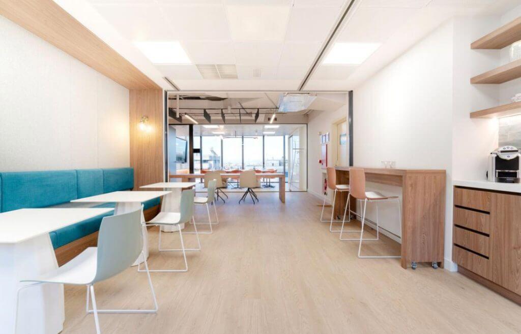 espacios de trabajo en centro de negocios principe de vergara