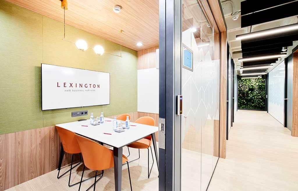 salas para videoconferencias en centro de negocios principe de vergara