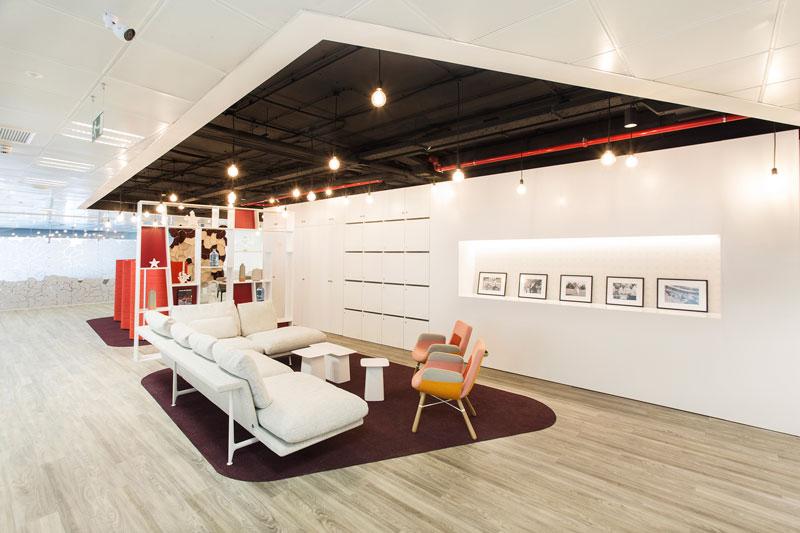 zonas comunes centro de negocios azca madrid