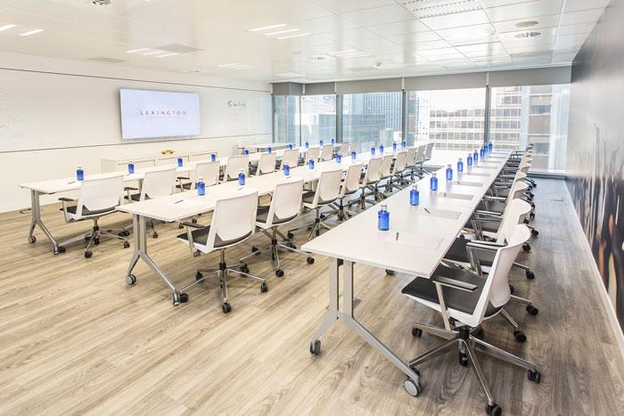 sala de formación centro de negocios azca madrid