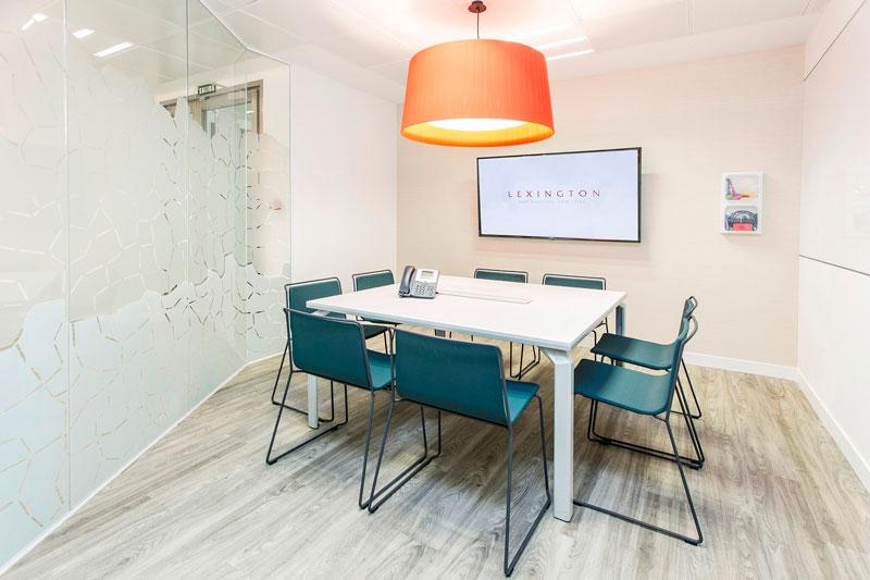salas de reuniones centro de negocios azca madrid