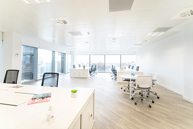 workspace castellana azca